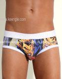 New Style Picture Print Men′s Underwear Brief