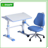 Colorful Adjustable Classroom Table Nursery Furniture with Chair