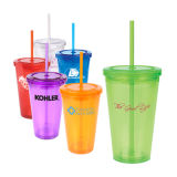 Plastic Promotional Tumbler Advertising Travel Mug