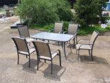 Garden Outdoor Designer Dining Table 6 Chairs Set (FS-1110+FS-5105)