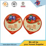 Aluminum Foil Pre Cut Lids for Food Packaging