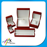 High Quality Professional Painted Red Glossy Jewelry Packaging Case Set