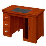 Fsc Certified Modern Design Wood Veneer Home Office Small Computer Desk (HY-NO6)