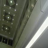 Streamlining Hyperbolic Aluminum Panel for Cladding and Ceiling Decoration