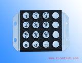 Professional Vandalproof Keypad Keypad with 16keys