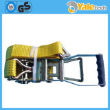 Strap and Ratchet Tie Down Cargo Lashing
