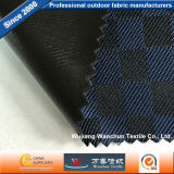 300d Oxford Double Color Lattice Fabric with PVC Coated