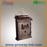 New Design Antique Wall Mounted Mailbox