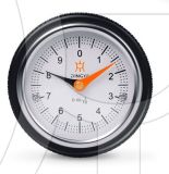 Silver Aluminum Chromeplate Watch Gravity Indicator
