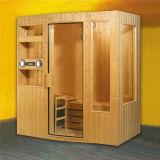 Monalisa Harvia Heater Sauna with Speaker and Shelf (M-6003)