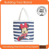 Hot Sale Promotional Canvas Fashion Lady Tote Bags (BDM142)