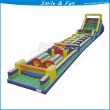 Inflatable Obstacle Course with Slider, Jumping, Bouncer, Climbing etc