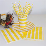 Thanksgiving Decoration Paper Drinking Straws & Paper Cup