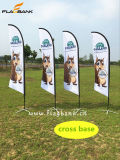 Exhibition Aluminium Customized Flying Flag/Beach Flag