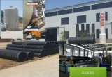 PP/HDPE spiral winding pipe equipment .