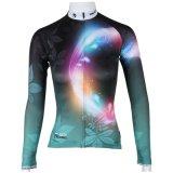 Customized Magic Circle Blackish Green Women′s Long Sleeve Shirt Outdoors Sports Cycling Jerseys
