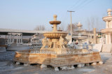 Golden Desert Stone Sculpture Marble Fountain (SY-F111)