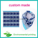 Custom Printed Silk Scarves Lady Silk Square Scarf