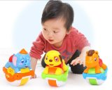 Kids Plastic Educational Sliding Function Animals Baby Toy