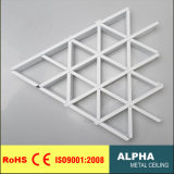 Metal False Decoration Suspended Aluminum Triangle Cell Ceiling