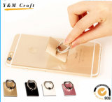 360 Rotates Mobile Cell Phone Tabletop Metal Finger Ring Holder