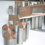 High Quality Titanium Clad Copper Bar for Water Electrolysis Flat Rectangular Square Rod Hex