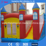 Hot Sell Inflatable Bouncy Castle with Slide Combo for Kids