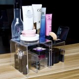 Clear Acrylic Riser Set for Cosmetic