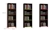 Modern Wooden Office Filing Cabinet /Storage Cabinet / Bookcase (HX-DR039)