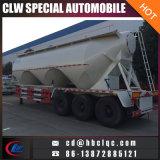 Tri Axles 36mt Flour Semitariler Tanker Flour Transport Tank Trailer