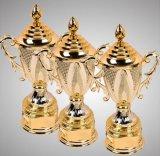 Big Size Gold Trophy for Bridge Tournament Champion