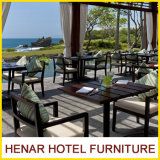 Hospitality Hotel Restaurant Furniture Outdoor Dining Table and Chair