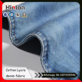 Cotton Lycra Slub Denim Fabric Indigo Jean Fabric