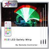 RGB Sand Car Antenna Flag Light by Remote Control