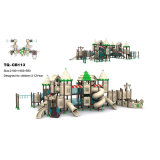 Wholesale Proper Price Different Size Large Plastic Slide Outdoor Playground