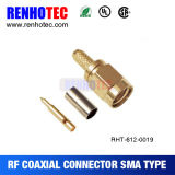 SMA Right Angle Female Coaxial Cable Connector