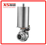 "2"" Stainless Steel Ss304 Ss316L Food Grade Air Air Drive Butterfly Valve"
