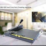 SM-460 manual ceasing perforating machine/Office Manual Paper Scoring machine