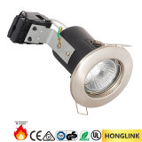 GU10 Halogen/LED Recessed Ceiling Fixed Fire Rated Down Light