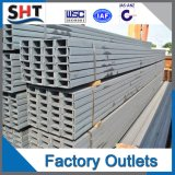 304 Stainless Steel U Channel for Glass Clamping