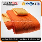 Polyester Flexible Twisted Eye Flat Webbing Sling