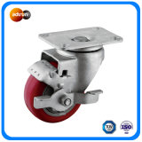 Medium Duty Wheel Brake PU Casters