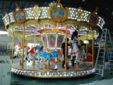 16 People Carousel Rides From Mantong Made in China