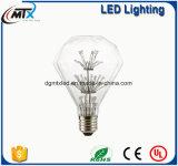MTX 3D Star/Colour Fairy G95 LED Edison Light E27 220V LED Bulb Lamp String Filament Retro Glass Lampara Ampoule Christmas Wedding