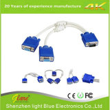 VGA Monitor Y Splitter Cable for Screen Duplication