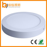 Indoor Ceiling Installation Round Surface Mounted SMD LED Panel Light-18W