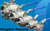 Stainless Steel 1-PC Threaded Ball Valve