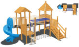 2014 New Design Wooden Outdoor Playground Equipment for Kid (TY-9074A)