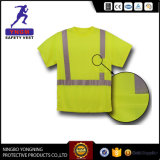High Visibility Class 2 Men′s Safety Tshirt From Factory
