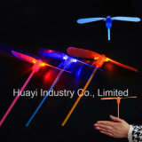 Flying Spinning LED Dragonfly Toy